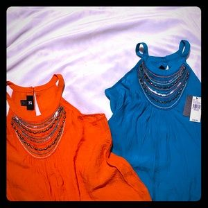 🔥2 for 1 Tops!! 1 NWT🔥